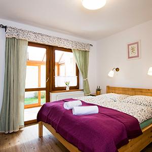 ubytování v penzionu v Třeboni